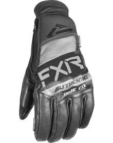 FXR Transfer Pro-Tech Leather Glove Black
