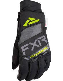 FXR Transfer Pro-Tech Glove Charcoal/Grey/Hi-Vis/Black