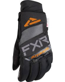 FXR Transfer Pro-Tech Glove Charcoal/Grey/Oranges/Black