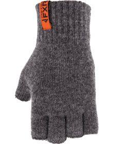 FXR Half Finger Wool Glove Black