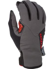 Klim 2021 Inversion Gloves Asphalt/High Risk Red