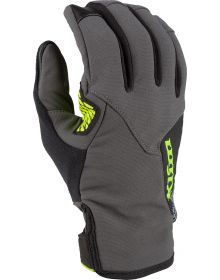 Klim 2021 Inversion Gloves Asphalt/Hi-Vis