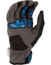Klim Inversion Glove Asphalt/Electric Blue Lemonade
