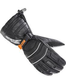 Rocket SnowGear Extreme Leather Snowmobile Glove Black