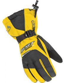 Rocket SnowGear Storm Snowmobile Glove Yellow