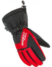 Rocket Snow Gear Storm Snowmobile Glove Red/Black
