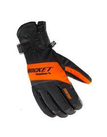 Rocket Snow Gear Snowcross Snowmobile Glove Black/Orange