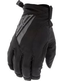 Fly Racing Title Snowmobile Gloves Black