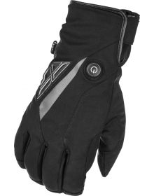 Fly Racing Title Heated Snowmobile Gloves Black