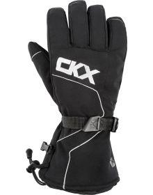 CKX Throttle Snowmobile Gloves Black