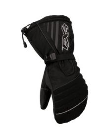 FXR Helix Youth Mitt Black