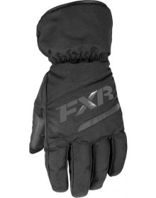 FXR Octane Youth Gloves Black