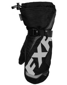 FXR Helix Race Youth Mitt Black