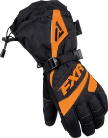 FXR Fusion Womens Gloves Black/Orange