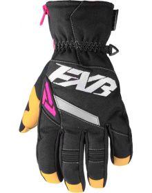FXR CX Short Cuff Womens Glove Black/Fuchsia