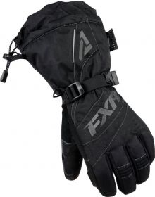 FXR Fusion Womens Gloves Black/Charcoal