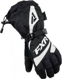 FXR Fusion Womens Gloves Black/White