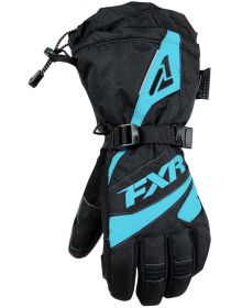 FXR Fusion Womens Gloves Black/Mint