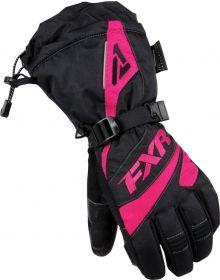 FXR Fusion Womens Gloves Black/Fuchsia