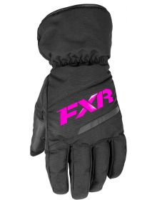 FXR Octane Womens Gloves Black/Fuchsia