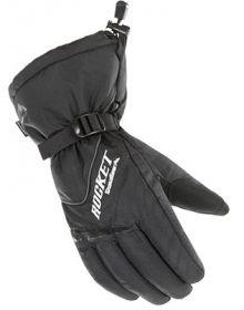 Rocket Snow Gear Storm Womens Snowmobile Glove Black
