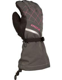 Klim 2021 Allure Womens Glove Black/Knockout Pink