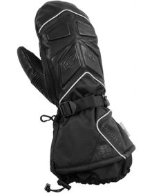 Castle X TRS Womens Snowmobile Mitts Black