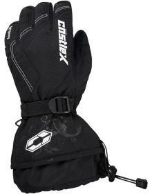 Castle X Legacy G1 Womens Snowmobile Gloves Black