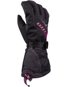Klim Ember Gauntlet Youth Glove Knockout Pink