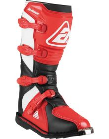Answer Racing A22 AR1 Boot Black/Red