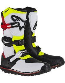Alpinestars Tech-T Boot White/Red/Yellow/Black
