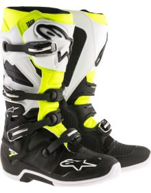 Alpinestars Tech 7 Enduro Boots Black/White/Yellow