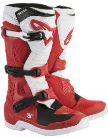 Alpinestars 2018 Tech 3 Boots Red/White