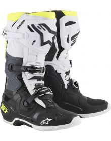 Alpinestars 2019 Tech 10 Boots Black/White/Yellow