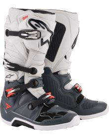 Alpinestars  Tech 7 Boots Dark Gray/Light Gray/Fluo Red