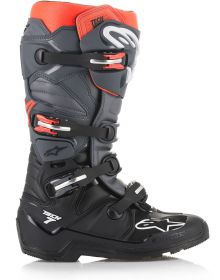 Alpinestars Tech 7 Enduro Boots Black/Gray/Fluo Red