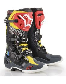 Alpinestars Tech 10 Cactus LE Boots Multi-Colored