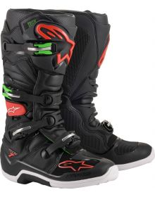 Alpinestars 2020 Tech 7 Boots Black/Red/Green
