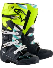 Alpinestars Tech 7 LE Anaheim 20 Flo Yellow/Gray/White