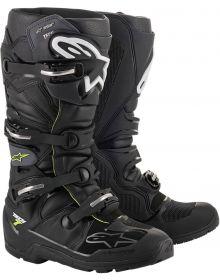 Alpinestars Tech 7 Enduro DryStar Boots Black/Gray/Fluo Red