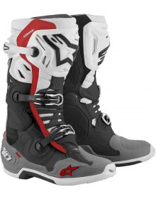 Alpinestars 2020 Tech 10 Supervented Boots Black/White/Gray/Red