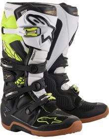 Alpinestars Tech 7 LE Seattle Space Yellow/White/Black/Brown