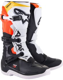Alpinestars Tech 3 Boots Black/White/Red/Yellow