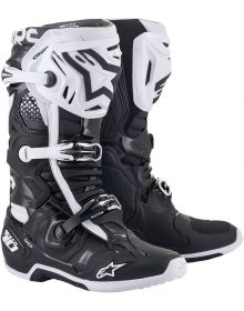 Alpinestars 2021 Tech 10 Boots Black/White