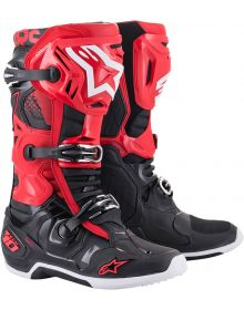Alpinestars 2021 Tech 10 Boots Black/Red