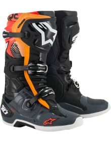 Alpinestars Tech 10 Boots Black/Gray/Orange