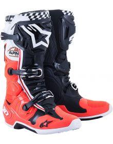 Alpinestars Tech 10 LE Angel 21 Boots Black/Red/White