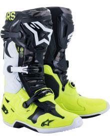 Alpinestars Tech 10 AMS21 LE Boots Black/Yellow/White