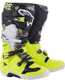 Alpinestars Tech 7 AMS21 LE Boots Black/Yellow/White