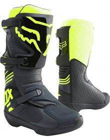 Fox Racing 2021 Comp Boot Black/Yellow